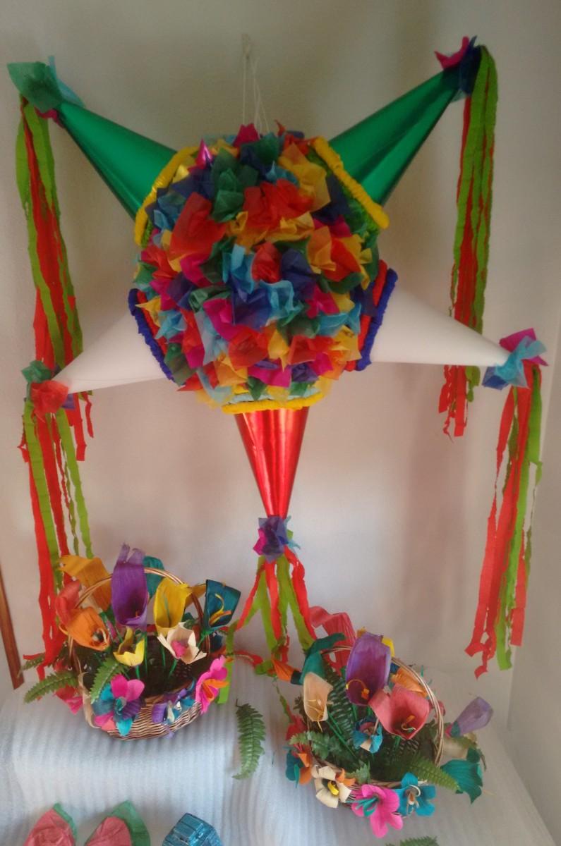 Pi atas tradicionales mexicanas zoila art for Cosas artesanales para navidad